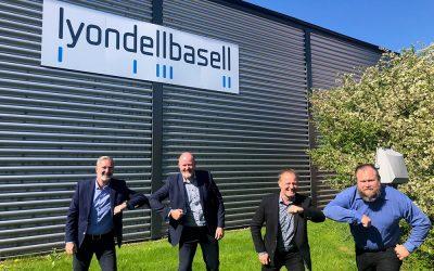 Plastgiganten LyondellBasell styrker samarbetet med Nordic Polymers